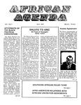African Agenda, April 1972