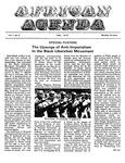 African Agenda, June 1972