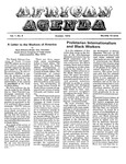 African Agenda, October 1972
