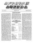 African Agenda, November 1972