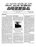African Agenda, December 1972
