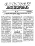 African Agenda, May 1973