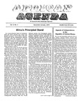 African Agenda, December & January, 1974