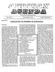 African Agenda, February & March, 1974