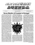 African Agenda, October & November 1974
