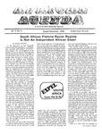 African Agenda, August & September 1975