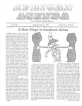 African Agenda, December & January 1977 by African American Solidarity Committee