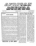 African Agenda, September 1972