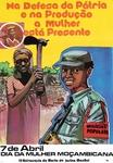 Na Defesa da Pátria e na Produção a Mulher está Presente Dia da Mulher Moçambicana