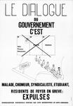 Le Dialogue Du Gouvernement C'est Malade, Chomeur, Syndicaliste, Etudiant