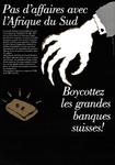 Boycottez les Grande Banques Suisses!