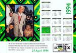 South Africa: 27 April 1994 Calendar