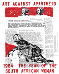 United States: Art Against Apartheid - 1984 The Year of the South African Woman