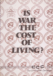 End Conscription Campaign: Is War the Cost of Living?
