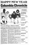 Columbia Chronicle (01/02/1979) by Columbia College Chicago
