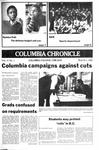 Columbia Chronicle (03/01/1982) by Columbia College Chicago