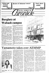 Columbia Chronicle (10/22/1984) by Columbia College Chicago