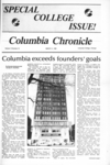 Columbia Chronicle (1/21/1985)