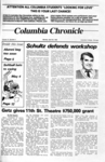 Columbia Chronicle (04/29/1985)