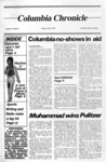Columbia Chronicle (05/13/1985) by Columbia College Chicago