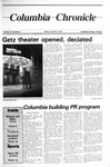 Columbia Chronicle (11/04/1985) by Columbia College Chicago