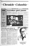 Columbia Chronicle (11/18/1985) by Columbia College Chicago
