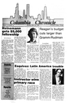 Columbia Chronicle (03/24/1986) by Columbia College Chicago