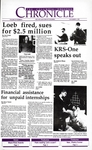 Columbia Chronicle (11/2/1992)