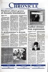 Columbia Chronicle (03/08/1993)