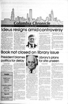 Columbia Chronicle (01/20/1987) by Columbia College Chicago