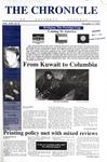 Columbia Chronicle (11/11/1996)