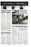 Columbia Chronicle (05/07/2001)