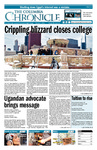Columbia Chronicle (02/07/2011) by Columbia College Chicago