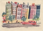 """Paris '49"" by John Fischetti"