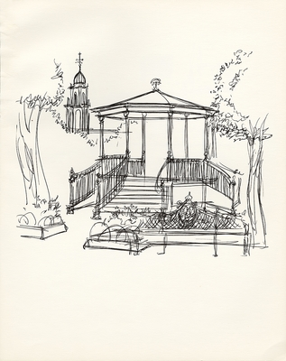 1971 trip to Mexico, Drawing 008
