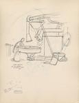 """""""Coffee roasting via de Gerardi Florence, Italy, 1960"""""""