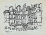 """""""Les Halles Rue du Jour, Paris July, 1965"""""""