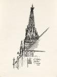 """St. Stephen's Cathedral - Vienna - 1973"""
