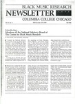 Black Music Research Newsletter, Fall 1986 by Samuel Floyd