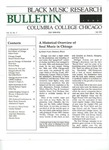 Black Music Research Bulletin, Fall 1990 by Samuel Floyd
