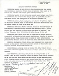Resolution Condemning Apartheid by Danny K. Davis
