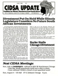 CIDSA Update, No. 9 by Coalition for Illinois Divestment from South Africa