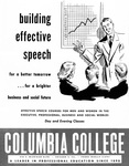 Effective Speech Courses Brochure, 1951 by Columbia College Chicago
