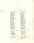 1965 Commencement Program