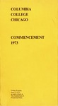 1973 Commencement Program