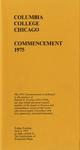 1975 Commencement Program