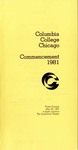 1981 Commencement Program
