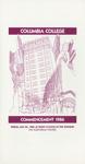 1986 Commencement Program