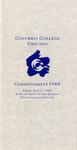 1988 Commencement Program