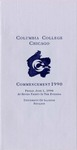 1990 Commencement Program